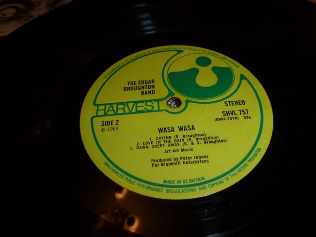 Edgar Broughton Band ‎– Wasa   Wasa  Label: Harvest ‎– SHVL 757