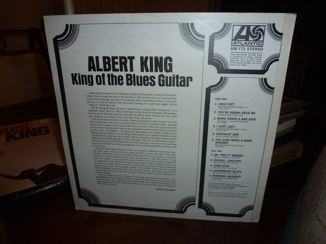 Albert King ‎– King Of   Blues Guitar  Label: Atlantic ‎– 588 173